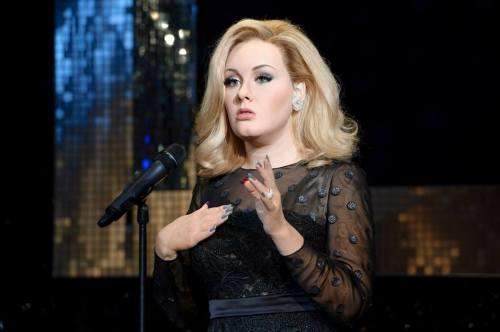 หุ่นขี้ผึ้ง Adele ที่ Madame Tussauds ลอนดอน