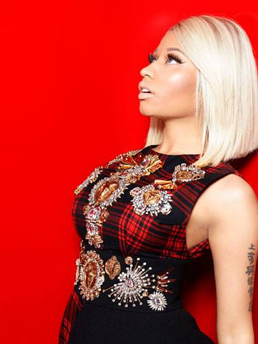 Nicki Minaj ถ่ายแบบลง Marie Claire