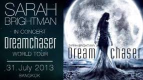 Sarah Brightman In Concert Dreamchaser World Tour Bangkok