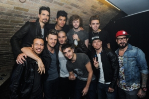 Backstreet Boys และ The Wanted