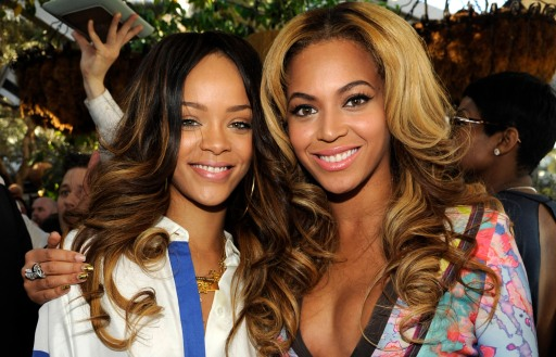Beyonce และ Rihanna