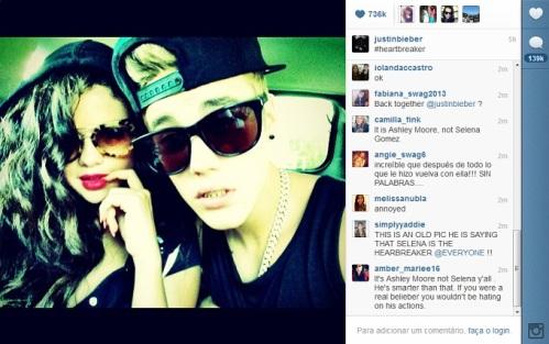 ภาพที่ Justin โพสลง IG