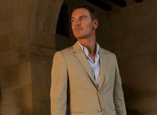 Michael Fassbender ใน The Counsellor