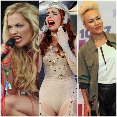 Rita Ora..Paloma Faith..Emeli Sande