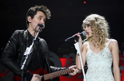Taylor Swift และ John Mayer