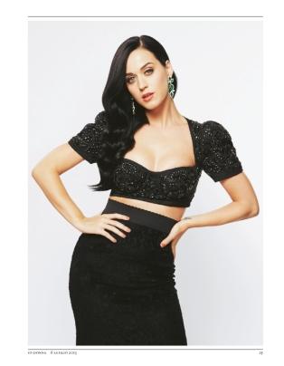 Katy Perry ถ่ายแบบลงนิตยสาร IO Donna
