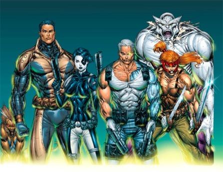 X-Force Comic