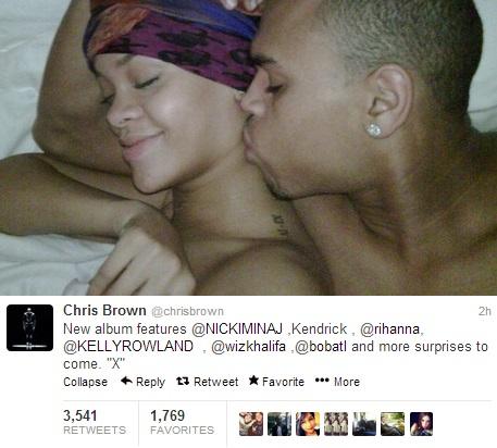 ทวิตเตอร์ของ Chris Brown