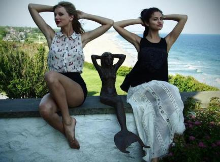 Taylor Swift และ Selena Gomez