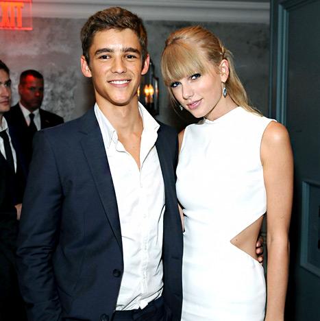 Taylor Swift และ Brenton Thwaites