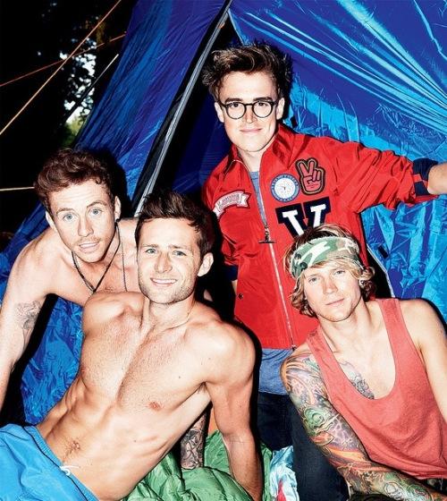 McFly ถ่ายแบบ Attitude