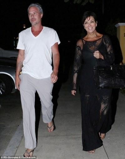 Jason Trawick และ Kris Jenner