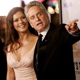 Michael Douglas และ Catherine Zeta-Jones
