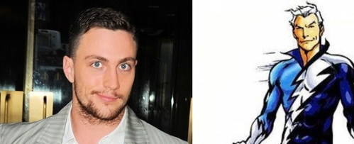 Aaron Taylor-Johnson รับบท Quicksilver
