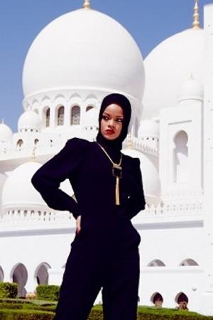 Rihanna ในอาบูดาบี