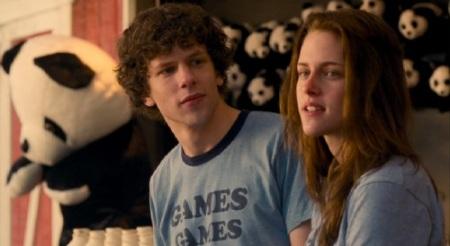 Jesse Eisenberg และ Kristen Stewart