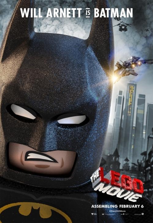 Will Arnett ให้เสียงพากย์เป็น Batman