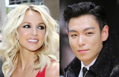 Britney และ T.O.P. วง Big Bang