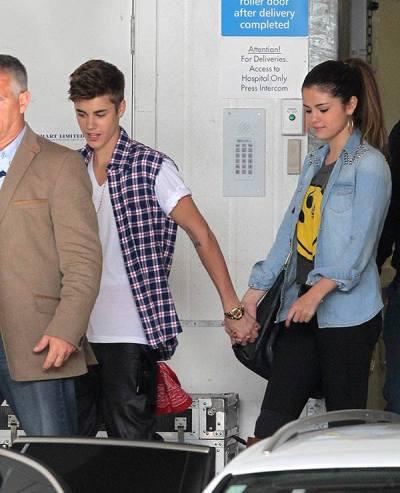 Justin Bieber และ Selena Gomez