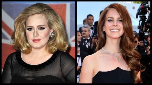 Adele และ Lana Del Rey
